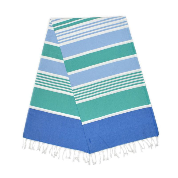 Cleopatra Berry Blue Mint Green Baby Turkish Towel