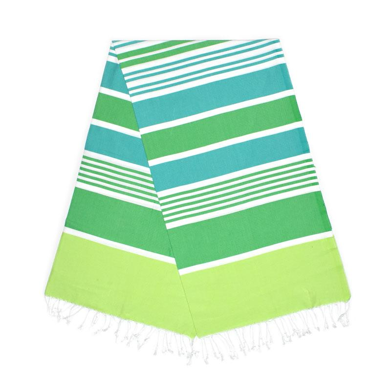 Cleopatra Pistachio Green Benneton Mint Turkish Towel