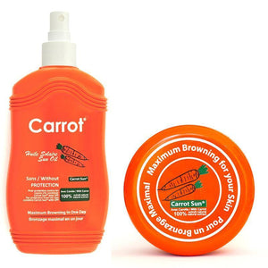 Carrot Sun Original Tan Accelerator Pack