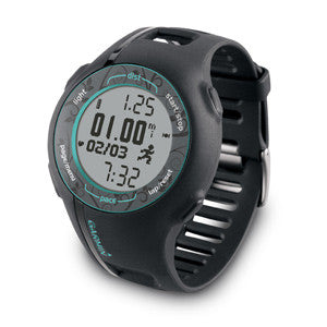 Forerunner® 210 Garmin Teal With Premium Heart Rate Monitor