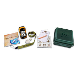 GPS Garmín eTrex® 10 Geocaching Kit