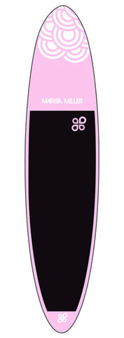 Tabla de Paddle Surf Marisa Miller 10 FT 00 INCH Pink/White