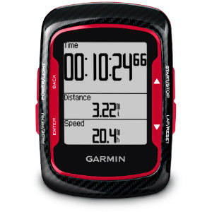 Edge® 500 Red And Black With Cadence Sensor And Heart Rate Monitor Garmin