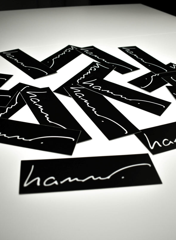 Hammer Apparel Stickers