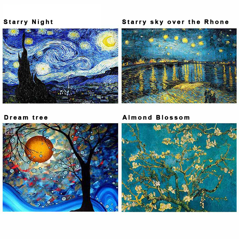 (LAST DAY PROMOTIONS- Save 50% OFF)-5D Diamond painting Van Gogh