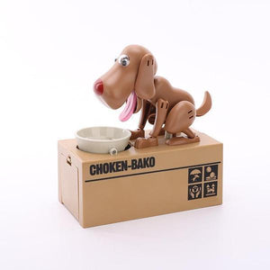 (Last Day Promotion - 50% OFF) Dog Coin Bank