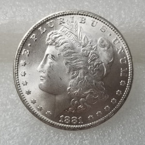 1878-1885-S Morgan Dollar