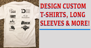 custom tee, t-shirt, long sleeves, hoodies, sweatshirts, and more. Custom apparel. TFB Apparel. tfbapparel