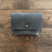 k(not) small wallet in charcoal gray nubuck