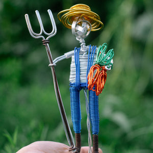 Farmer Male Figure