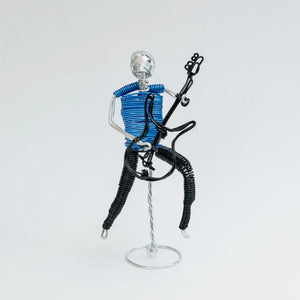 Bass Guitar Male Figure