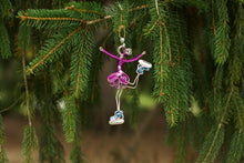 Load image into Gallery viewer, Ice Skater Ornament