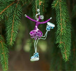 Ice Skater Ornament