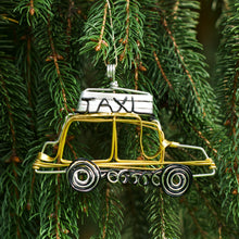 Load image into Gallery viewer, Taxi Cab Ornament