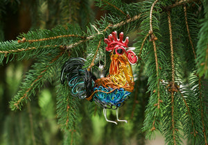 Rooster Ornament