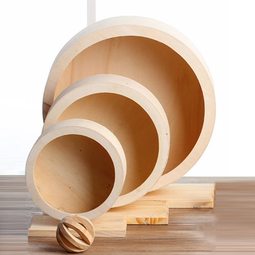 Silent Wooden Exercise Wheel