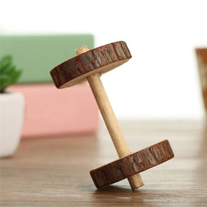 Wood Mini Exercise Toy