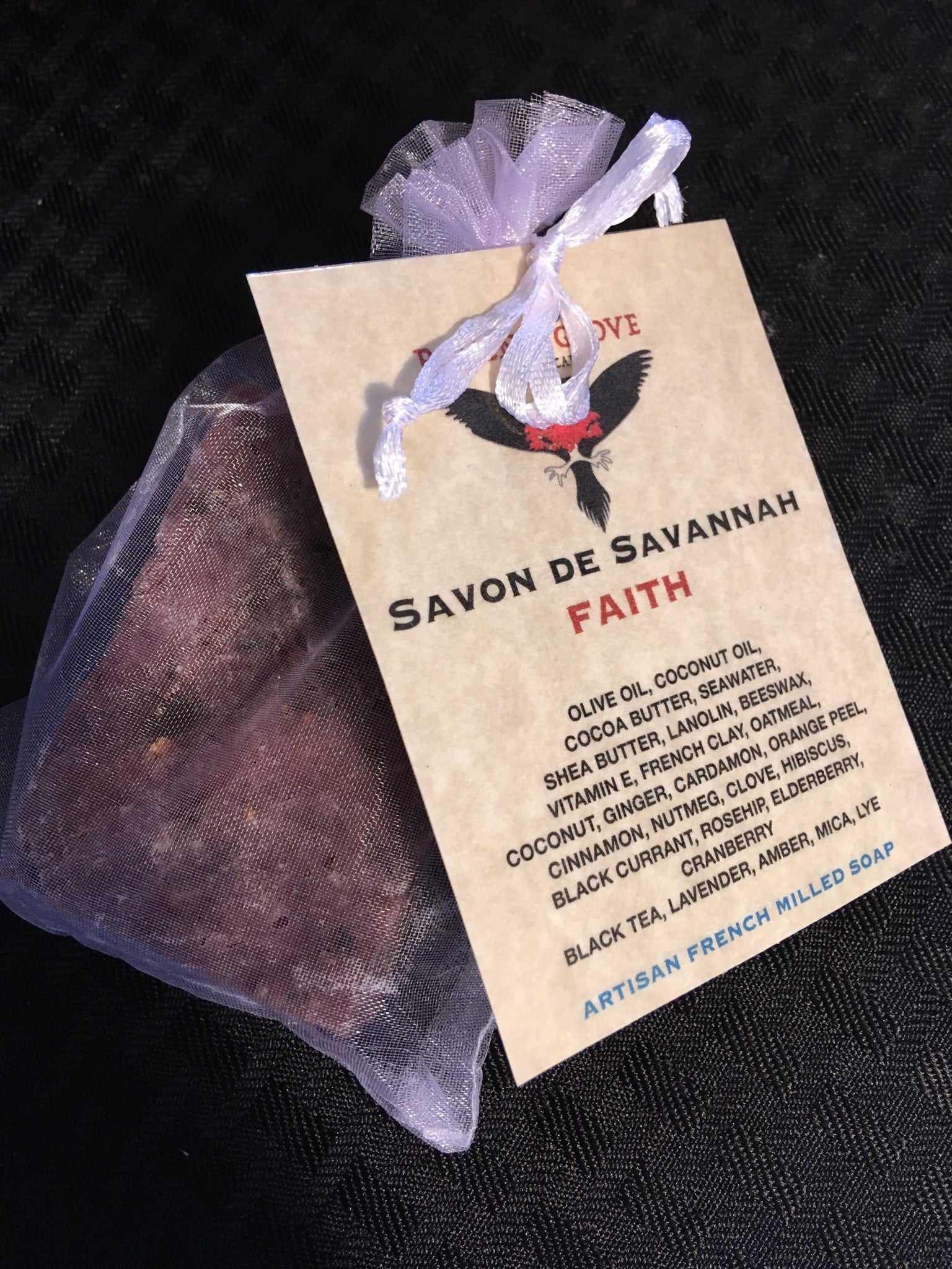 FAITH: ARTISAN FRENCH MILLED SOAP