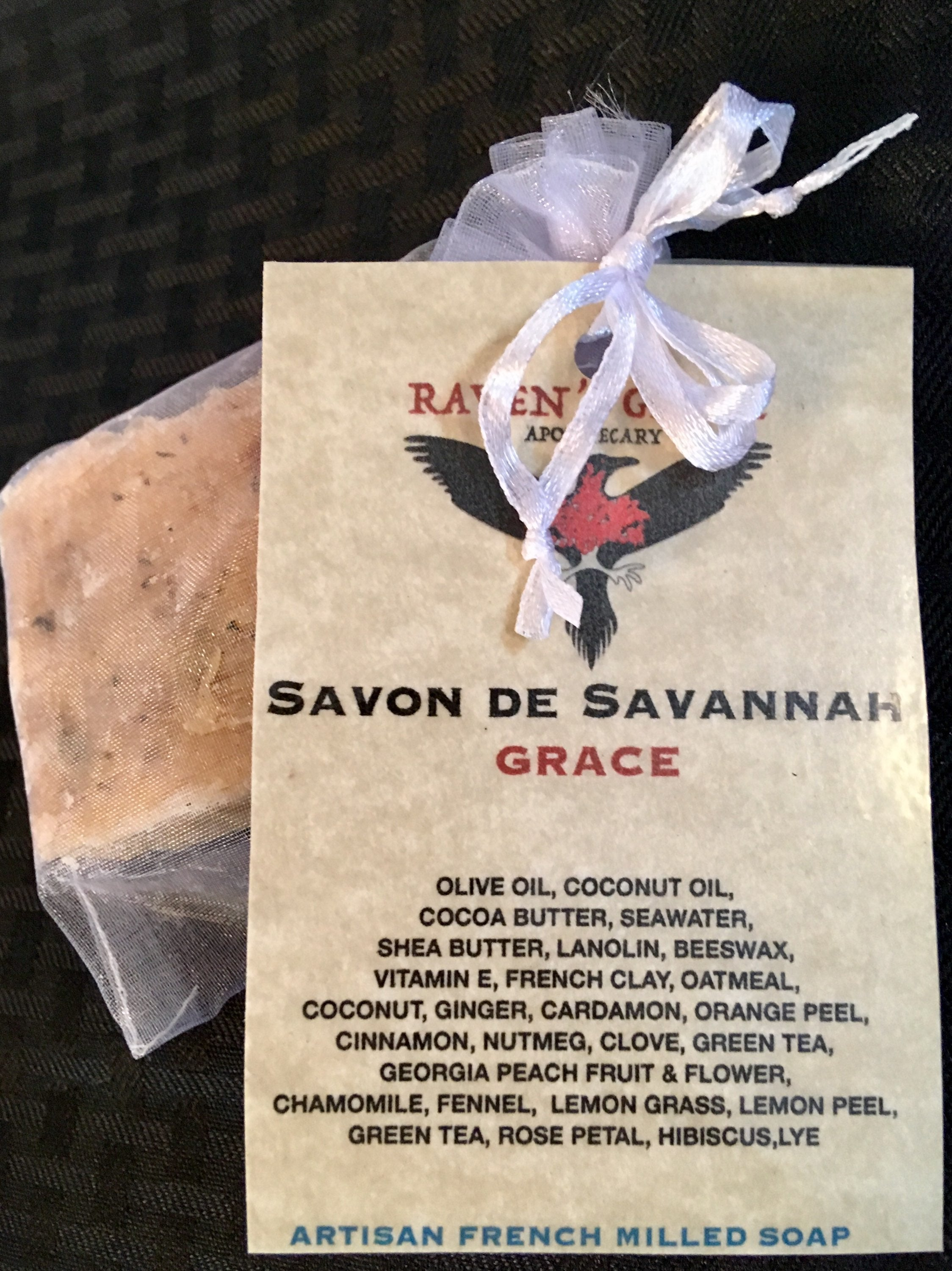 GRACE: ARTISAN FRENCH MILLED SOAP