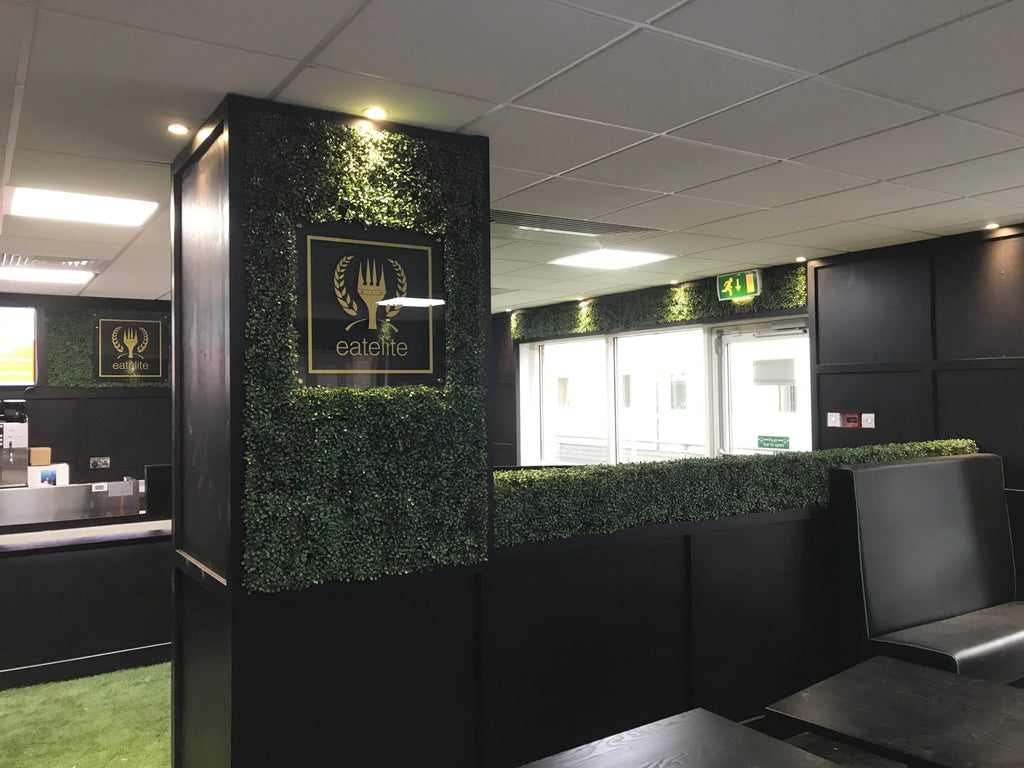Commercial Restaurant Design – From Visualisation to Reality with Artificial Hedging