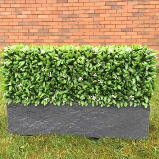 Artificial Hedge Trough Make a Feature of Your Windowsill