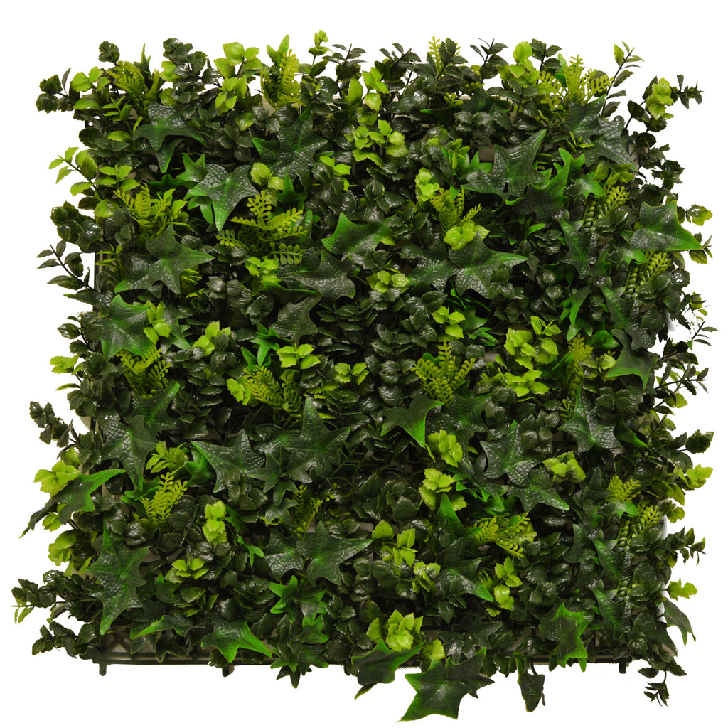 Artificial Ivy Bush 50cm x 50cm - Hedgedin