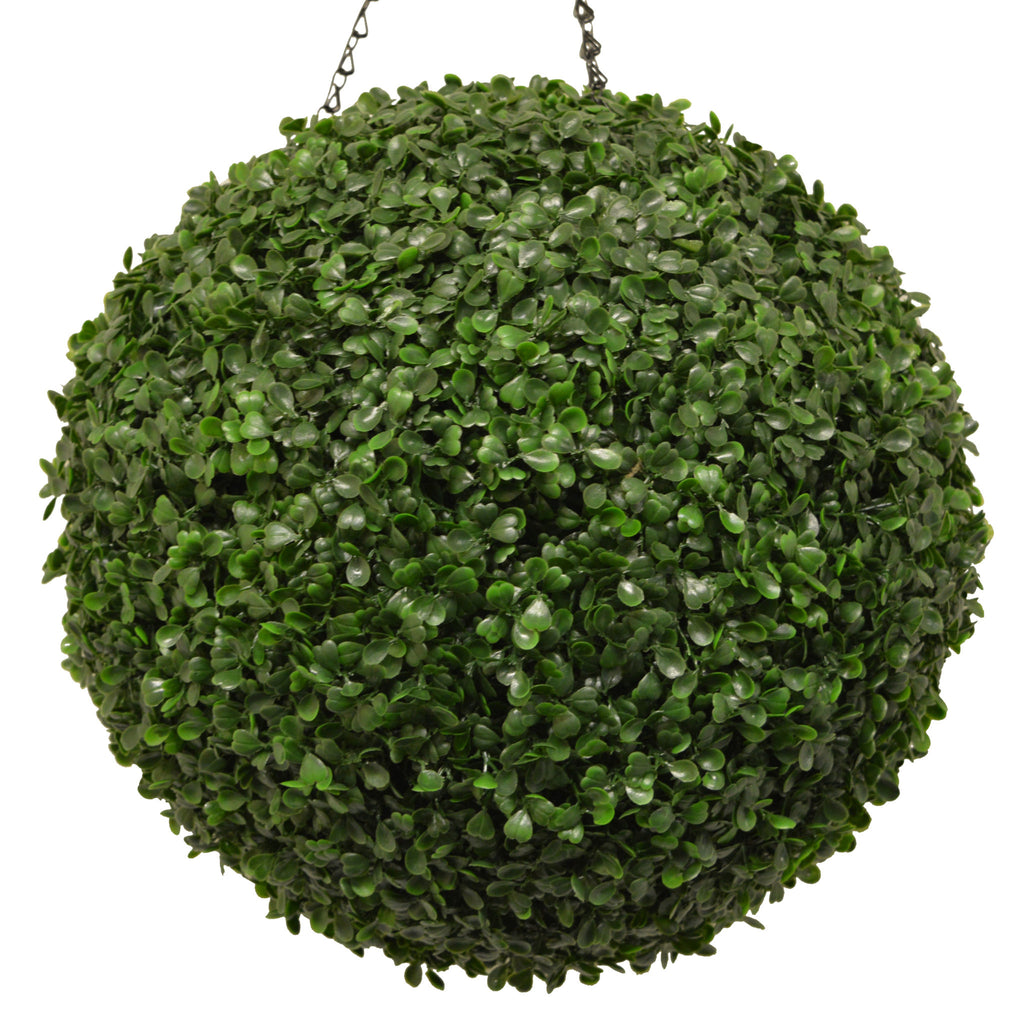 Artificial Boxwood Topiary Ball 36cm - Hedgedin