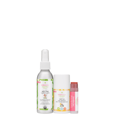 Travel Size Outdoor Set ($21 value) - bug repellent, sunscreen, and lip balm