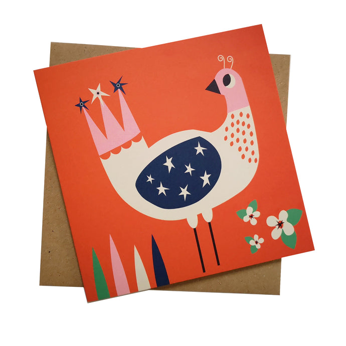 Little Star Bird Greeting Card