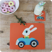 Load image into Gallery viewer, George Rabbit Placemat & Coaster Gift Set