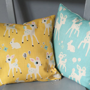 Woodland Cushion (yellow)