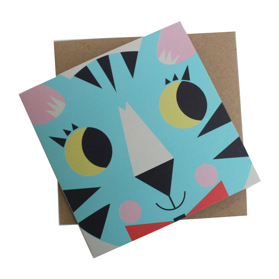 KitCat Greeting Card