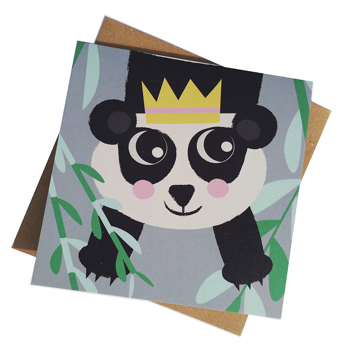 Bamboo Panda Greeting Card