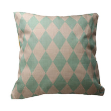 Load image into Gallery viewer, Woodland Cushion (blue)