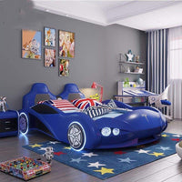 Children Tesla Car Bed - Pausetwoplay