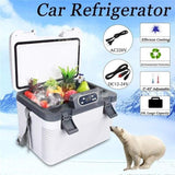 Mini Double-system Refrigerator Car Cooler Box - Pausetwoplay