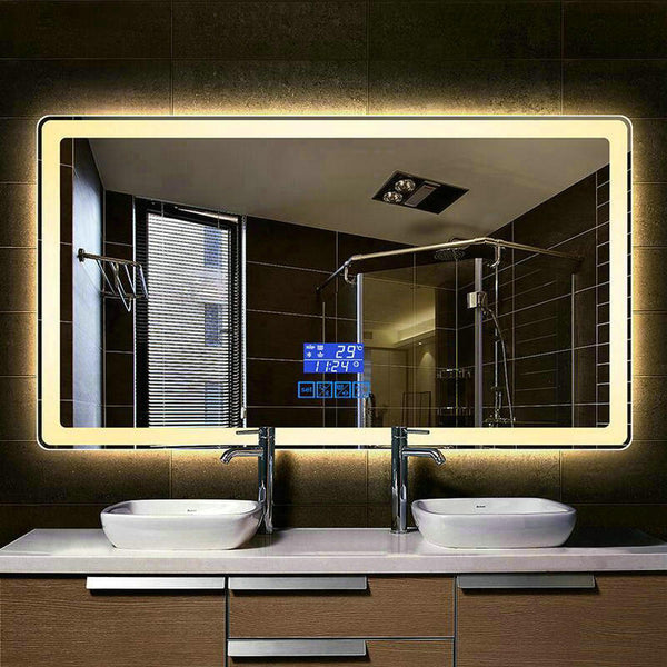 Smart LED Bluetooth Mirror - Pausetwoplay