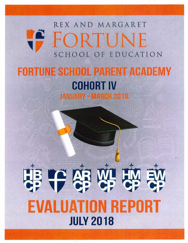 Winter 2018 Fortune School Parent Academy Evaluation Report