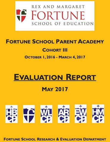 March 2017 Fortune School Parent Academy Evaluation Report