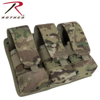 Rothco Universal Triple Mag Rifle Pouch