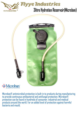 3lt Microban Bladder (BLACK)