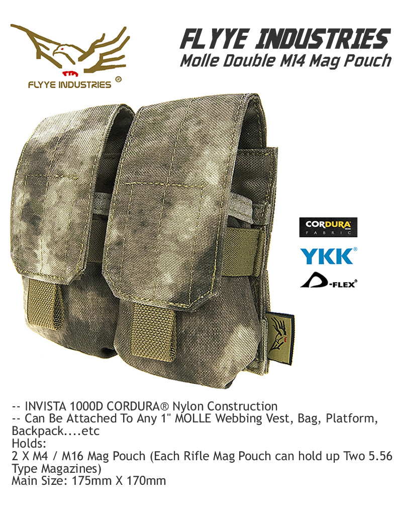 Flyye Double M14 Mag Pouch