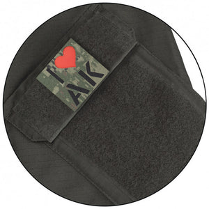 "Call Sign Patch ""I love AK"" (GS)"