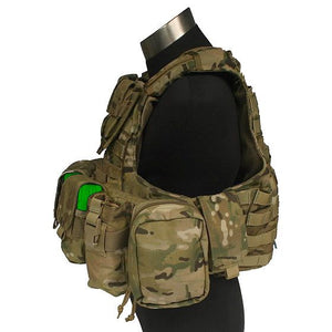 Force Recon Vest with Pouch Set Ver.Land
