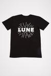 SALE - Unisex Black Lune T-Shirt (50% off at check-out)