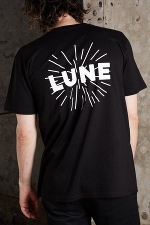 Unisex Black Lune T-Shirt