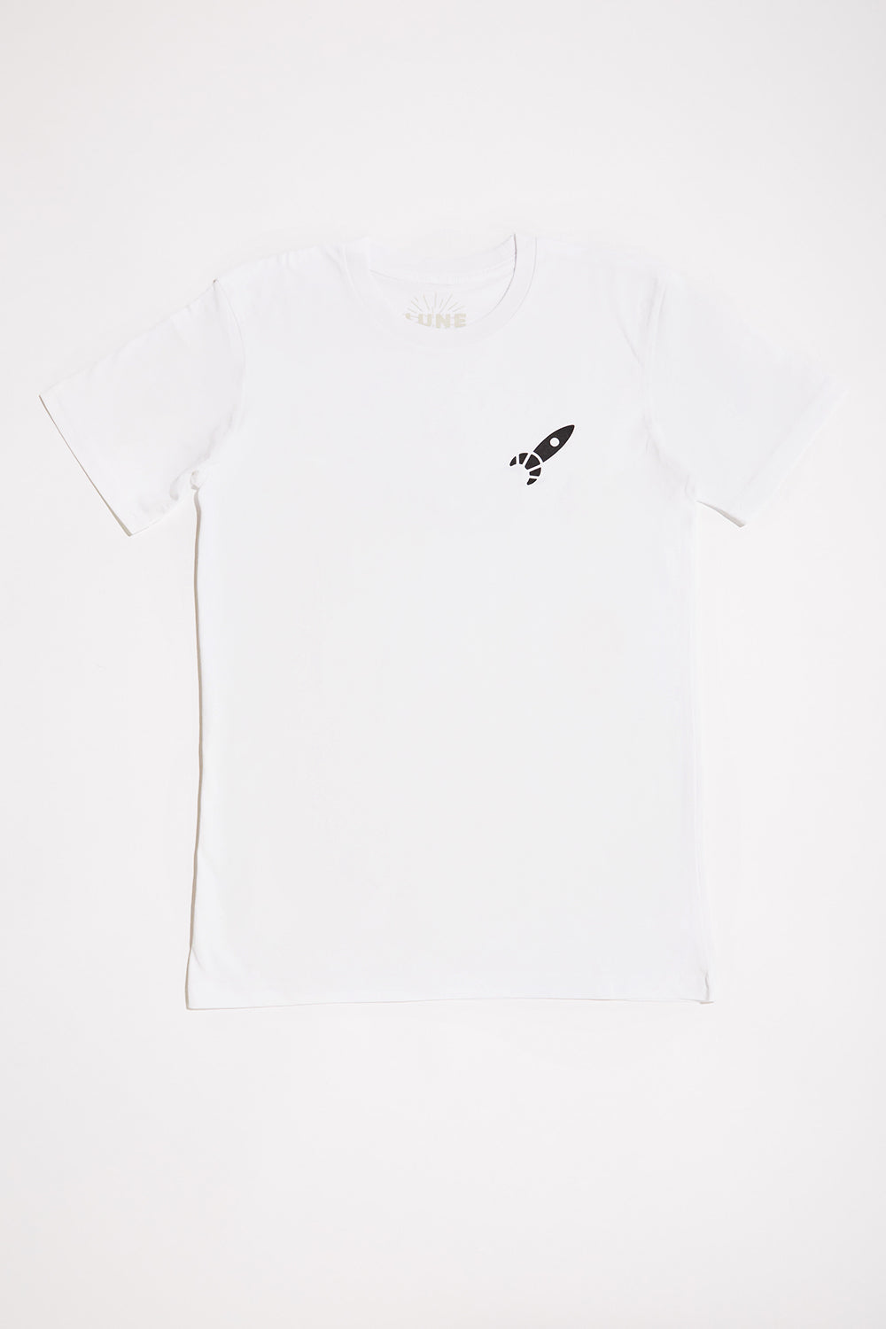 SALE - Unisex White Lune T-Shirt (50% off at checkout)
