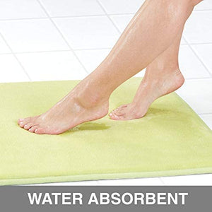Memory Foam Absorbent Bathroom Mat