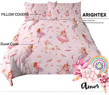 Load image into Gallery viewer, Chubby Unicorn Duvet Cover 3 Piece