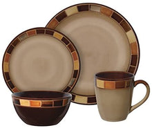 Load image into Gallery viewer, Gibson Elite Casa Estebana 16 Piece Dinnerware Set, Cream